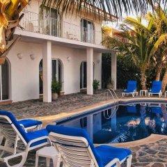 Отель Villa Oceano Мексика, Сан-Хосе-дель-Кабо - отзывы, цены и фото номеров - забронировать отель Villa Oceano онлайн бассейн фото 2