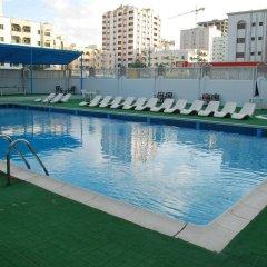 Отель Al Bustan Hotel Flats ОАЭ, Шарджа - отзывы, цены и фото номеров - забронировать отель Al Bustan Hotel Flats онлайн бассейн