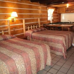 Отель Cabañas Montebello Inn Креэль комната для гостей фото 3