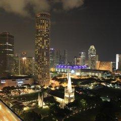 Отель Peninsula Excelsior Hotel Сингапур, Сингапур - 3 отзыва об отеле, цены и фото номеров - забронировать отель Peninsula Excelsior Hotel онлайн балкон
