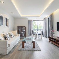 Апартаменты Luxury Apartments - Okrzei Residence Сопот комната для гостей