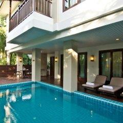 Отель Ravindra Beach Resort And Spa Таиланд, На Чом Тхиан - 6 отзывов об отеле, цены и фото номеров - забронировать отель Ravindra Beach Resort And Spa онлайн бассейн фото 3