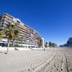 Отель Calpemar пляж фото 2