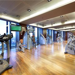 Отель Eurostars Madrid Tower Мадрид фитнесс-зал фото 4