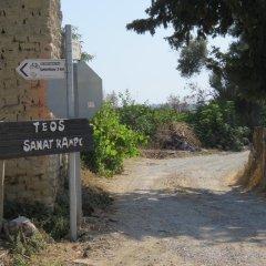 Отель Teos Sanat Kampi парковка