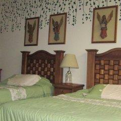 Отель Hostal La Encantada Мексика, Мехико - 1 отзыв об отеле, цены и фото номеров - забронировать отель Hostal La Encantada онлайн комната для гостей фото 5