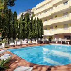 Отель Astoria Suite Hotel Италия, Римини - 9 отзывов об отеле, цены и фото номеров - забронировать отель Astoria Suite Hotel онлайн бассейн фото 2