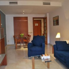 Отель Suites Marina - Abapart Испания, Барселона - отзывы, цены и фото номеров - забронировать отель Suites Marina - Abapart онлайн комната для гостей фото 5