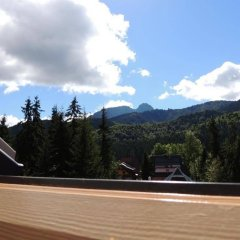 Апартаменты Guest House & Apartment Nabucco with Mountain View Закопане балкон