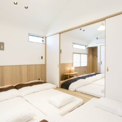 Musubi Hotel Machiya Kiyokawa 1 Фукуока комната для гостей фото 5