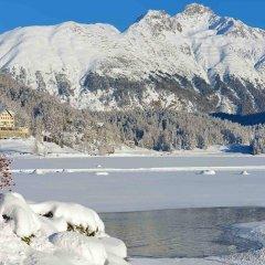 Отель Waldhaus am See Швейцария, Санкт-Мориц - отзывы, цены и фото номеров - забронировать отель Waldhaus am See онлайн спортивное сооружение