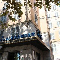 Отель New Alexander Генуя вид на фасад
