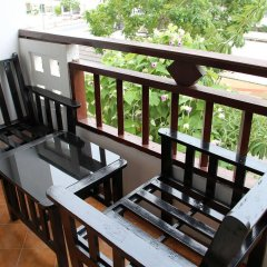 Апартаменты Jomtien Good Luck Apartment Паттайя балкон