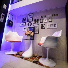 48Metro Hotel Bangkok Бангкок интерьер отеля фото 2