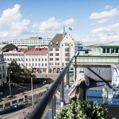 Отель Radisson Blu Scandinavia Hotel Швеция, Гётеборг - отзывы, цены и фото номеров - забронировать отель Radisson Blu Scandinavia Hotel онлайн балкон