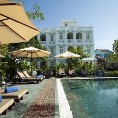 Отель Hoi An Garden Palace & Spa бассейн фото 3