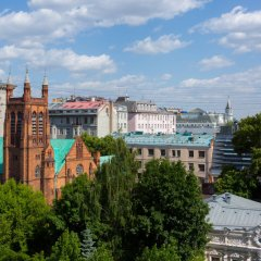 Гостиница Кортъярд Марриотт Москва Центр в Москве - забронировать гостиницу Кортъярд Марриотт Москва Центр, цены и фото номеров балкон