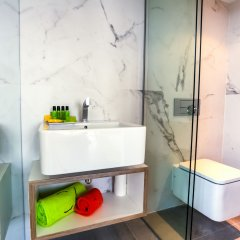 Апартаменты Cosmo Apartments Sants Барселона ванная