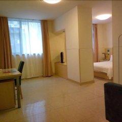 Отель Jinjiang Inn Guangzhou Liwan Chenjia Temple Китай, Гуанчжоу - отзывы, цены и фото номеров - забронировать отель Jinjiang Inn Guangzhou Liwan Chenjia Temple онлайн комната для гостей фото 5