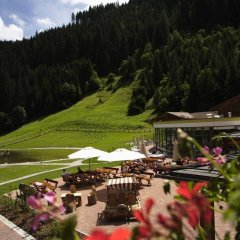 Отель Feuerstein Nature Family Resort Горнолыжный курорт Ортлер балкон