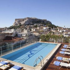 Отель Electra Palace Hotel Athens Греция, Афины - 1 отзыв об отеле, цены и фото номеров - забронировать отель Electra Palace Hotel Athens онлайн бассейн