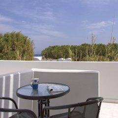 Отель Romani Studios Perissa Греция, Остров Санторини - отзывы, цены и фото номеров - забронировать отель Romani Studios Perissa онлайн балкон
