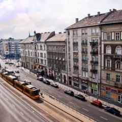 Отель Corvin Hostel Венгрия, Будапешт - отзывы, цены и фото номеров - забронировать отель Corvin Hostel онлайн балкон
