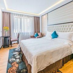 Отель Hoper Hotel (Shenzhen Huanggang Port) Китай, Шэньчжэнь - отзывы, цены и фото номеров - забронировать отель Hoper Hotel (Shenzhen Huanggang Port) онлайн комната для гостей фото 4