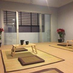 Qing lian Youth Hostel&Cafe комната для гостей