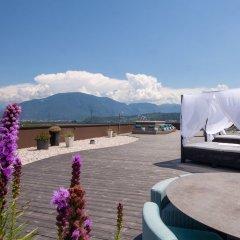 The Lodge Hotel - Golfclub Eppan Аппиано-сулла-Страда-дель-Вино приотельная территория фото 2