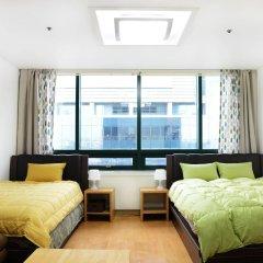 SH Seoul Hostel комната для гостей