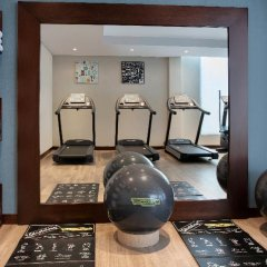Отель DoubleTree by Hilton Hotel and Residences Dubai Al Barsha ОАЭ, Дубай - 1 отзыв об отеле, цены и фото номеров - забронировать отель DoubleTree by Hilton Hotel and Residences Dubai Al Barsha онлайн фитнесс-зал фото 3