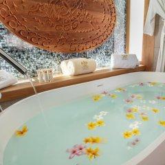 Отель Bora Bora Pearl Beach Resort and Spa Французская Полинезия, Бора-Бора - отзывы, цены и фото номеров - забронировать отель Bora Bora Pearl Beach Resort and Spa онлайн ванная
