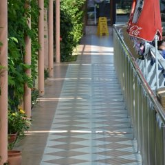Yavuzhan Hotel Турция, Сиде - 1 отзыв об отеле, цены и фото номеров - забронировать отель Yavuzhan Hotel онлайн приотельная территория фото 2