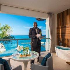 Отель Sandals Montego Bay - All Inclusive - Couples Only Ямайка, Монтего-Бей - отзывы, цены и фото номеров - забронировать отель Sandals Montego Bay - All Inclusive - Couples Only онлайн балкон