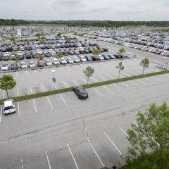 Отель Aalborg Airport Hotel Дания, Бровст - отзывы, цены и фото номеров - забронировать отель Aalborg Airport Hotel онлайн парковка