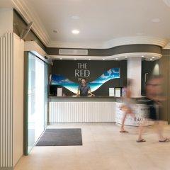 Апартаменты The Blue Apartments by Ibiza Feeling - Adult Only интерьер отеля