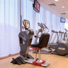 Отель Hilton Manchester Deansgate Манчестер фитнесс-зал фото 3