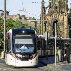 Отель Novotel Edinburgh Centre городской автобус