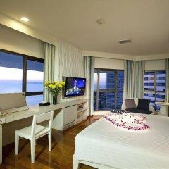 Отель Jomtien Palm Beach Hotel And Resort Таиланд, Паттайя - 10 отзывов об отеле, цены и фото номеров - забронировать отель Jomtien Palm Beach Hotel And Resort онлайн комната для гостей фото 3