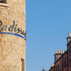 Отель Radisson Blu Edinburgh балкон