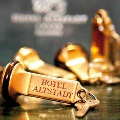 Отель Altstadt Radisson Blu Австрия, Зальцбург - 1 отзыв об отеле, цены и фото номеров - забронировать отель Altstadt Radisson Blu онлайн приотельная территория фото 2