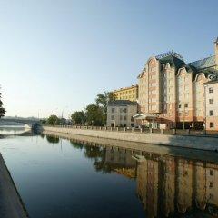 Отель Россо Рива Москва приотельная территория фото 2