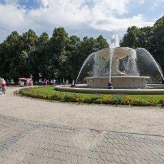 Апартаменты P&O Apartments Niecala Варшава приотельная территория