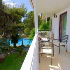Отель Porfi Beach Hotel Греция, Ситония - 1 отзыв об отеле, цены и фото номеров - забронировать отель Porfi Beach Hotel онлайн балкон