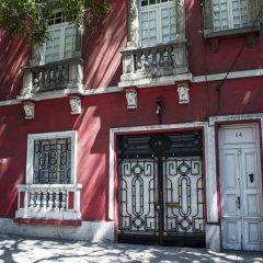 Отель Entre Barrios Hospederia Мехико вид на фасад