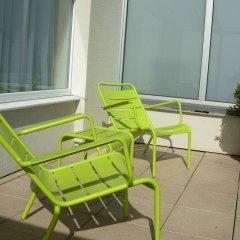 Отель Ter Streep Бельгия, Остенде - отзывы, цены и фото номеров - забронировать отель Ter Streep онлайн балкон