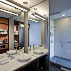 Отель Aloft Chicago OHare США, Розмонт - отзывы, цены и фото номеров - забронировать отель Aloft Chicago OHare онлайн ванная фото 2