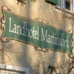 Отель Landhotel Martinshof фото 18