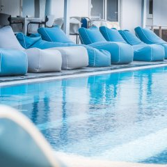 Отель Anika Studios Фалираки бассейн